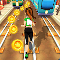 Royal Princess Subway Run - Fun Surfers icon