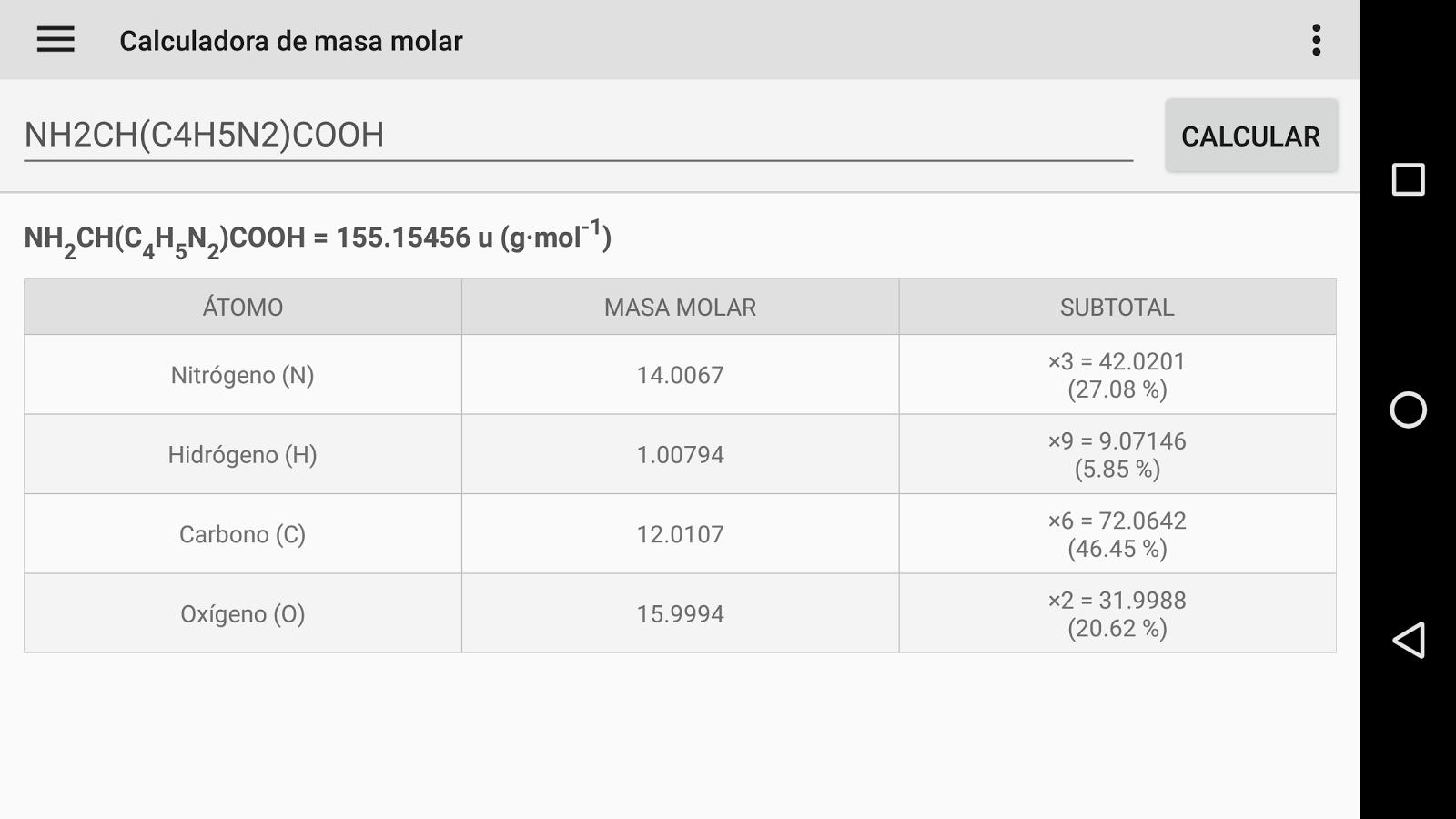 Tabla peridica aplicaciones de android en google play tabla peridica captura de pantalla urtaz Gallery