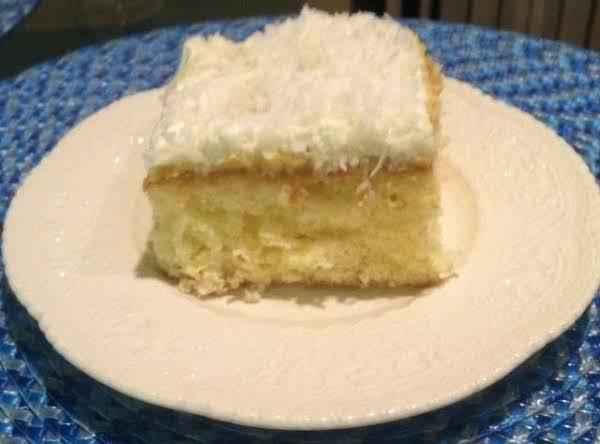 Pineapple Coconut Icebox Cake