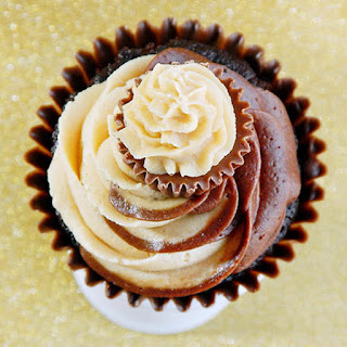 Chocolate Peanut Butter Swirl Frosting
