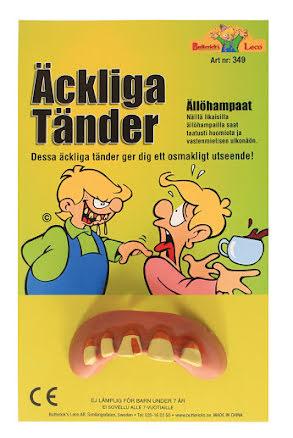 Äckliga tänder