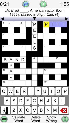 Crossword Unlimited 4.0.1 screenshots 1