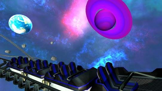 Intergalactic Space Virtual Reality Roller Coaster 2