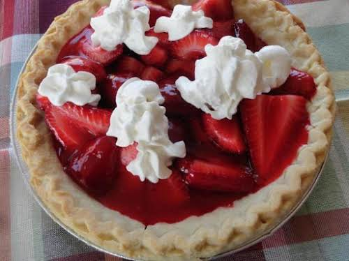 "Summetime Strawberry Pie ""Made this pie last night, with the help of..."
