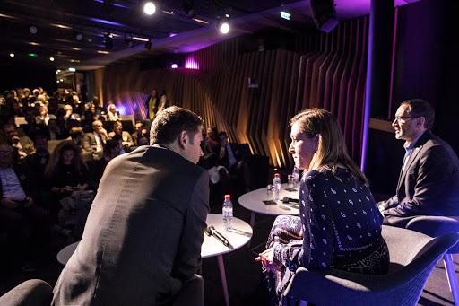 Club Les Echos Digital avec Denis Machuel et Belen Moscoso Del Prado (Sodexo) et Cécile Maisonneuve (La Fabrique de la Cité)