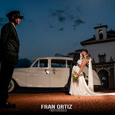 Wedding photographer Fran Ortiz (franortiz). Photo of 12.09.2018