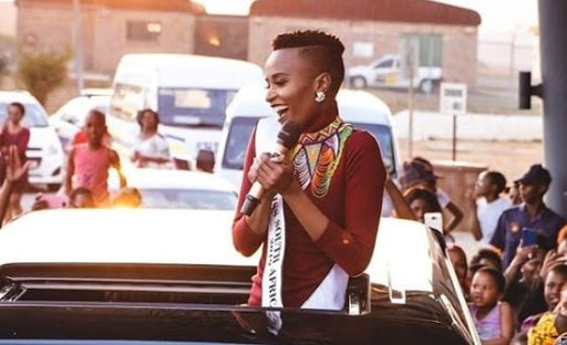 WATCH | Miss SA nearly causes a stampede during homecoming visit