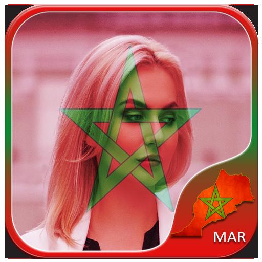 Morocco Flag Photo Editor