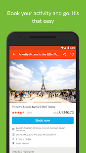 GetYourGuide Tours & Tickets- screenshot thumbnail