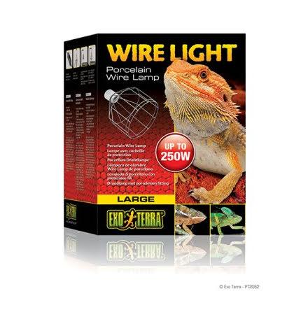 ExoTerra Wirelight Large för Keramisk Lampa