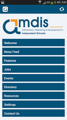 AMDIS Member App