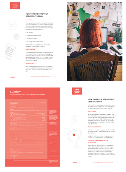 Perfect Resume Guide Pages