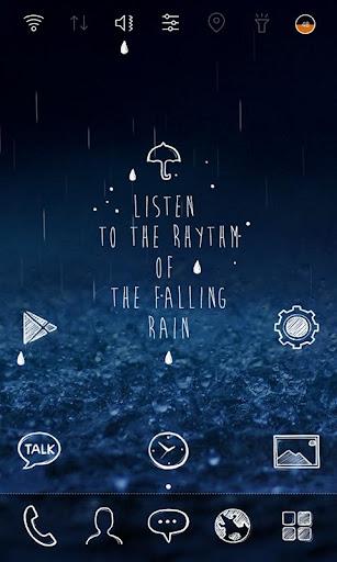 听雨 桌面主题