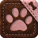 GO ADW2 NEXT TSF LAUNCHER THEME PINK CAT DOG icon