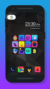 Burm - Icon Pack Screenshot