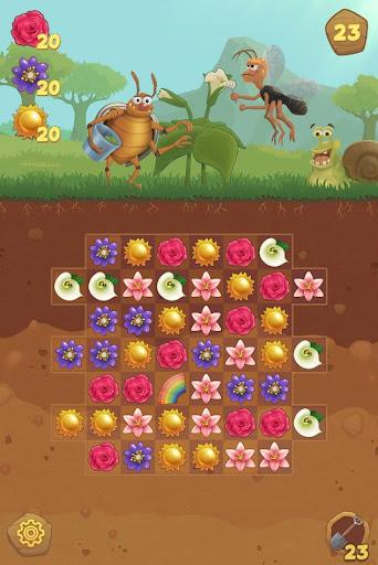 Flower Book: Match-3 Puzzle Game 1.76 screenshots 1