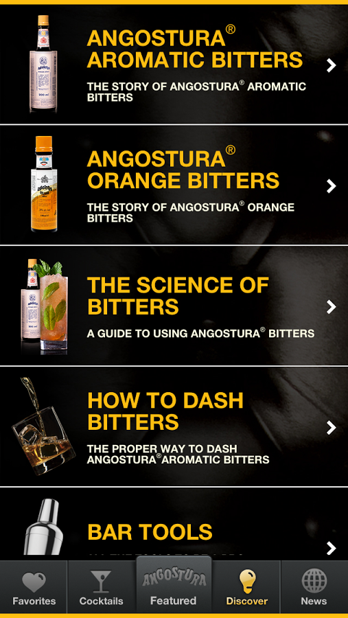 Angostura- screenshot