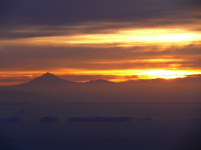 Photo: Sonneaufgang von Isora (Teide auf Teneriffa)