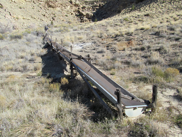 155' long trough at Joe Spring
