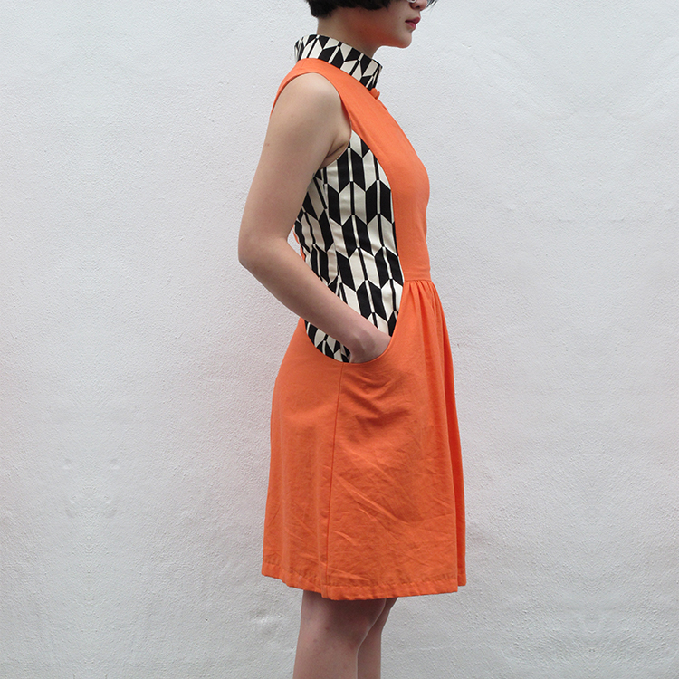 Fen Qipao Orange Small