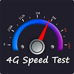 4G Speed Test & Meter Icon
