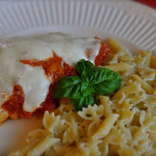 Easy Weeknight Chicken Parmesan.