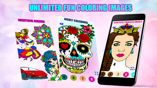 Adult Color By Number-Paint By Number Book Free - screenshot