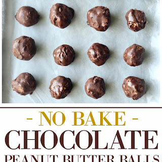 No Bake Chocolate Peanut Butter Balls Recipe