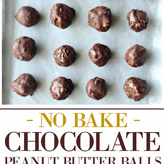 No Bake Chocolate Peanut Butter Balls.