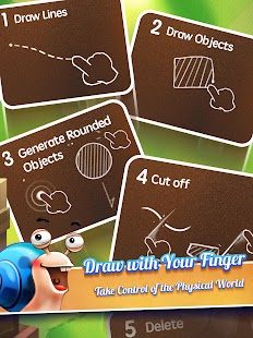 Rolling Snail - Drawing Puzzle- screenshot thumbnail