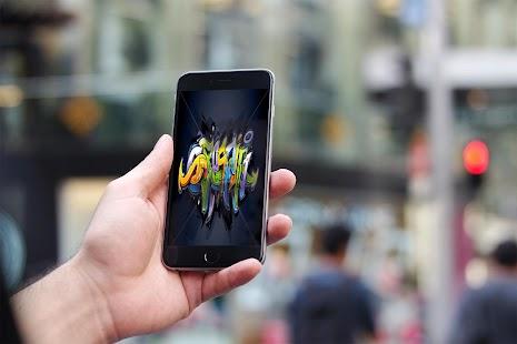 Graffiti Name Wallpaper - náhled