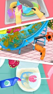 Sweet Baby Girl Cleanup 4 – House, Pool & Stable 2