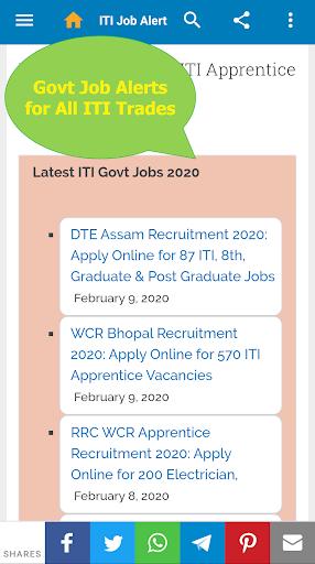 ITI Job Alert screenshot 1