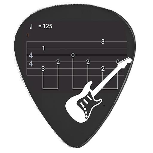 Guitar Tabs X Icon