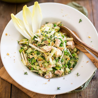Green Peas and Tuna Salad
