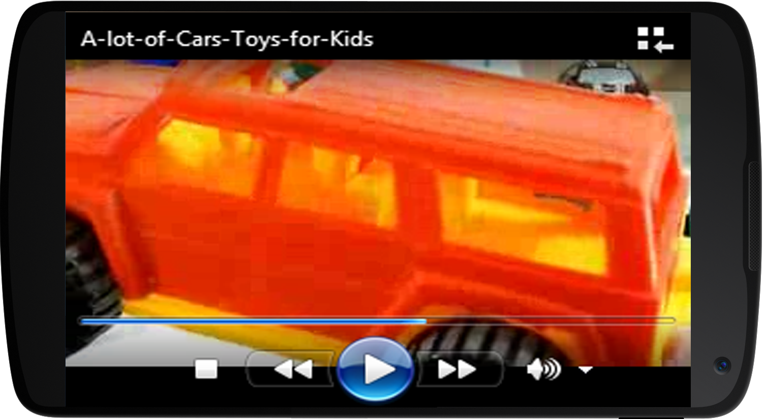 toy car video screenshot