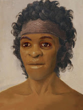 Photo: Luzia of Lagoa Santa At least two distinct groups of early humans colonized the Americas, a new study says. Anthropoligists studied 81 skulls of early humans from Brazil's Lagoa Santa region and found them to be different from both modern and ancient Native Americans. One skull discoverd at a site in the state of Minas Gerais called Lapa Vermelha was given the name Luzia. The 11,000-year-old remains suggest that the oldest settlers of the Americas came from different genetic stock than more recent Native Americans. Modern Native Americans share traits with Mongoloid peoples of Mongolia, China, and Siberia but researchers found many skulls from Brazil appear much more similar to modern Australians, Melanesians, and Sub-Saharan Africans.  Digital Reconstruction: evolution-involution.org More: http://news.nationalgeographic.com/news/2005/12/1212_051212_humans_americas.html Lagoa Santa George Weber http://www.andaman.org/BOOK/chapter54/text-LagoaSanta/text-LagoaSanta.htm