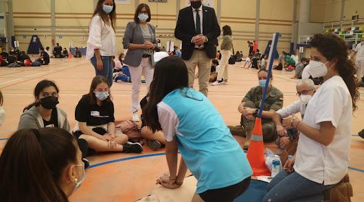 Más de 400 jóvenes almerienses reciben formación en reanimación