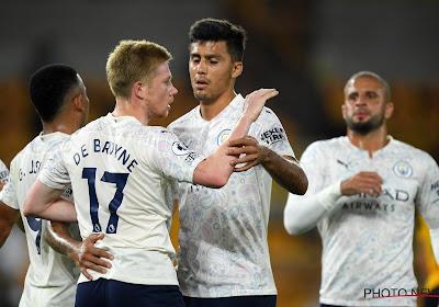 Kevin De Bruyne zet Manchester City op weg naar zege tegen Wolverhampton