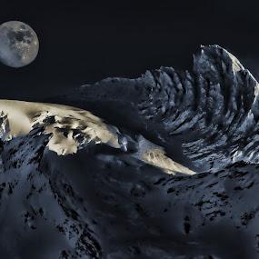 Cascades by Greg Harcharik - Landscapes Mountains & Hills (  )