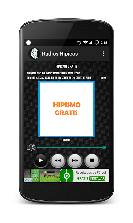 Radios Hípicos- screenshot