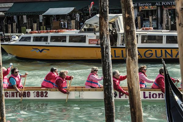 Canottaggio over a Venezia di Bibanto