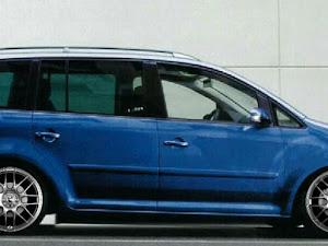 ゴルフトゥーランのカスタム事例画像 青色の可愛いドイツ車さんの2020年04月21日12:56の投稿