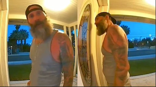 Chilling Video Captures Man Threatening to 'Rape and Kill' Woman Knowing She Was Home Alone