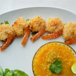Coconut Shrimp with Spicy Mango Sauce
