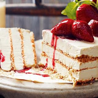 Zabaglione Ice-cream Cake