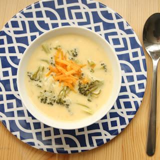 Gluten Free Broccoli Cheddar Soup.