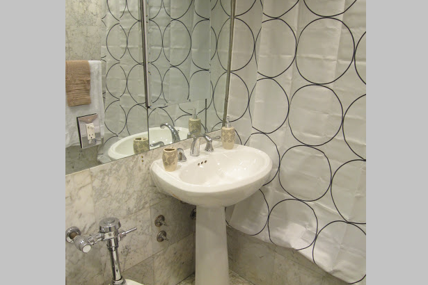 Bathroom at 1 Bedroom Apartment at East 47th Street in Midtown