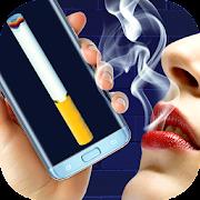 Virtual cigarette pack (prank)