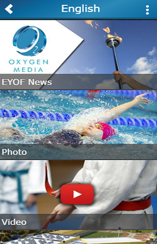 Oxygen Media- screenshot
